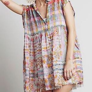 Patterned {Free People} One Empire Extreme Tunic